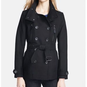 BURBERRY BRIT WILFORD DOUBLE BREASTED TRENCH  COAT